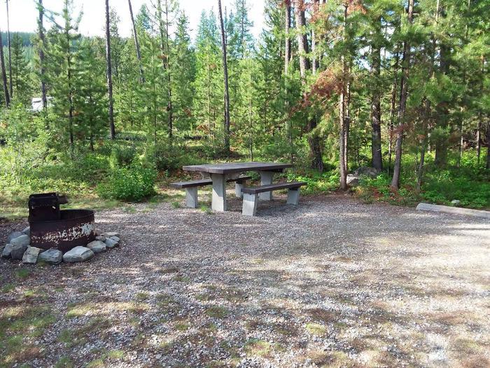 McGregor Lake Site 20-table