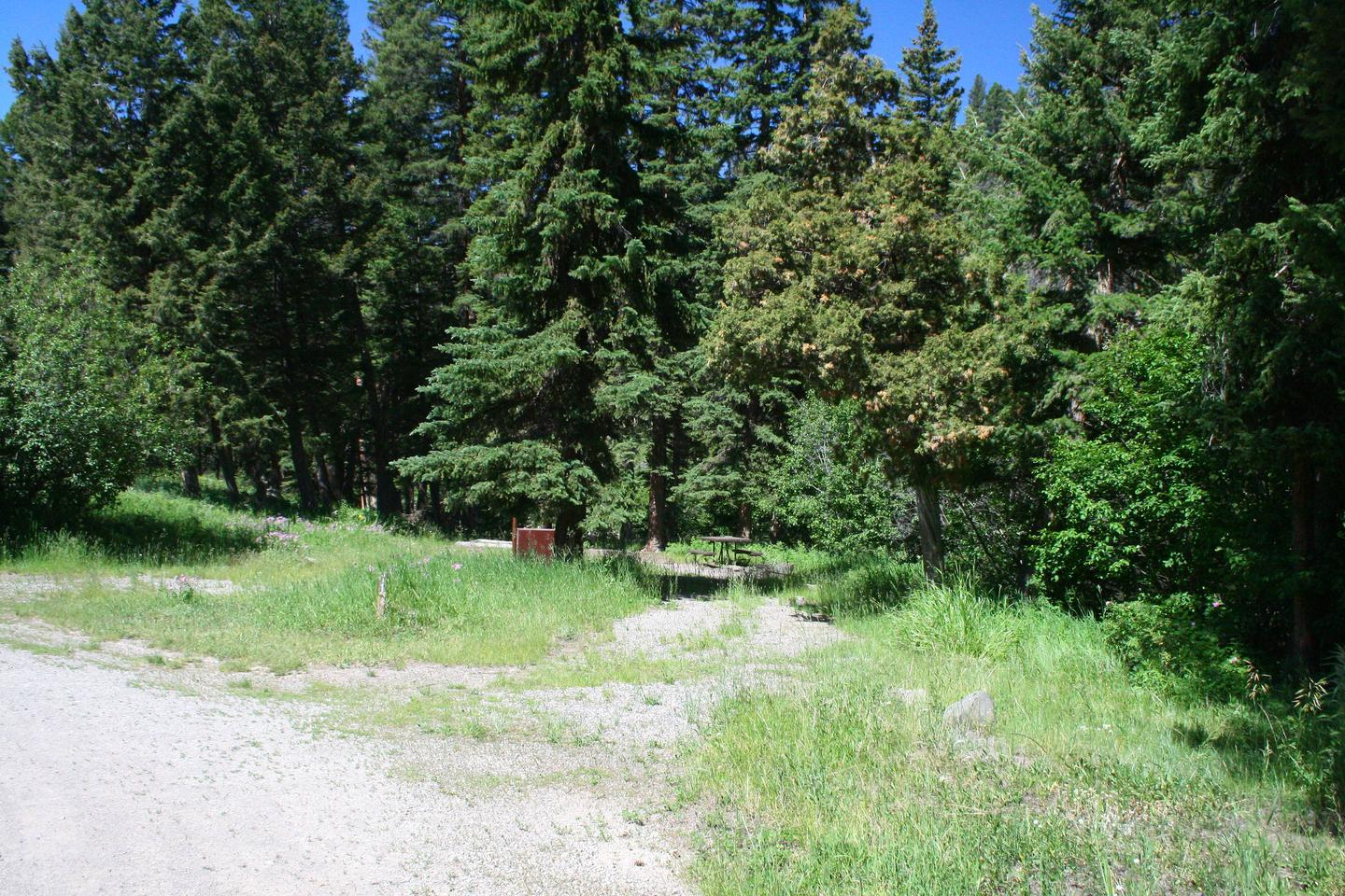 Slough Creek Campground Site #11....Slough Creek Campground Site #11