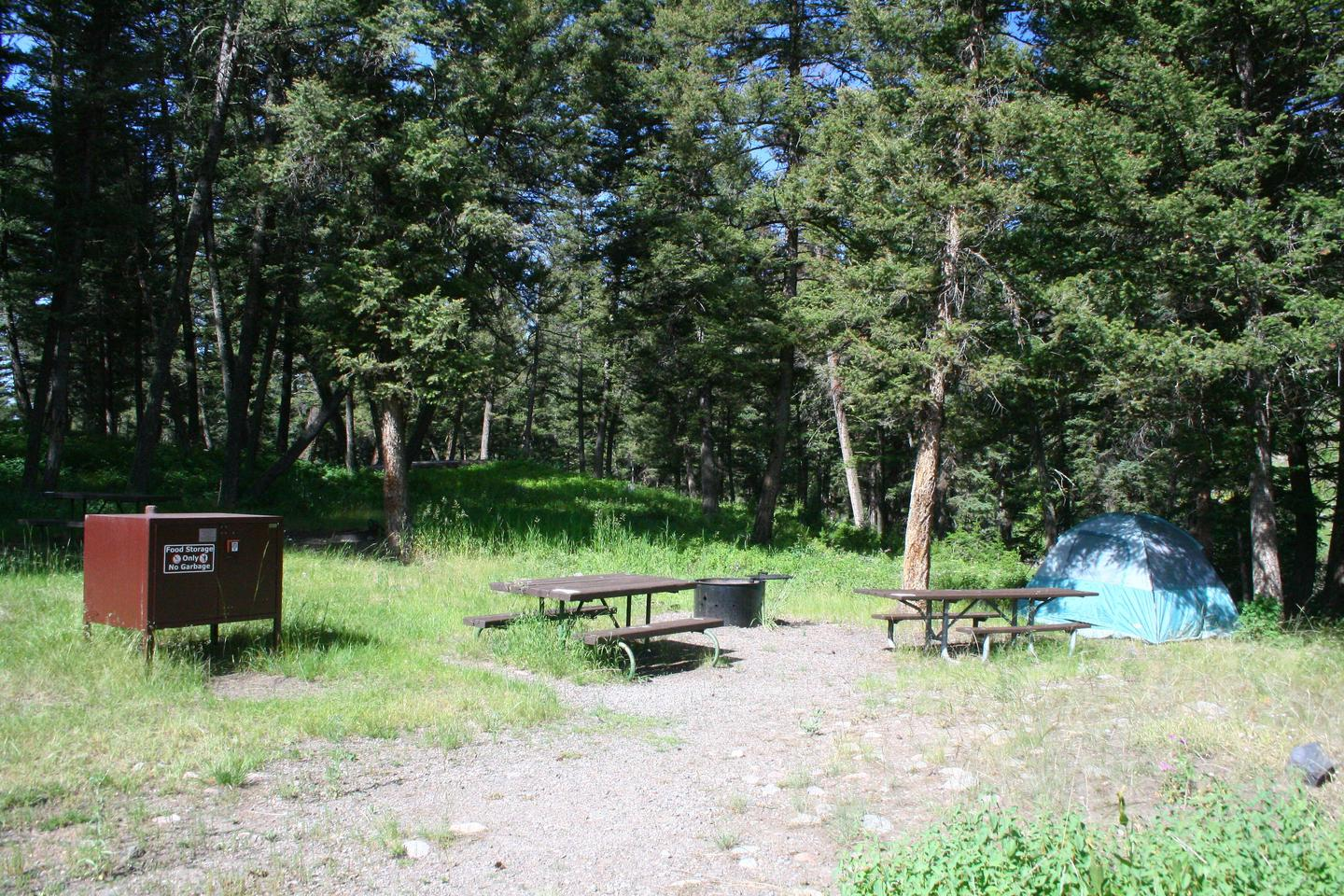 Slough Creek Campground Site #12...Slough Creek Campground Site #12