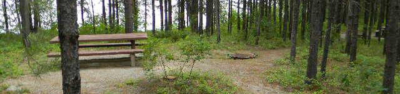 McGregor Lake Tent Site 2