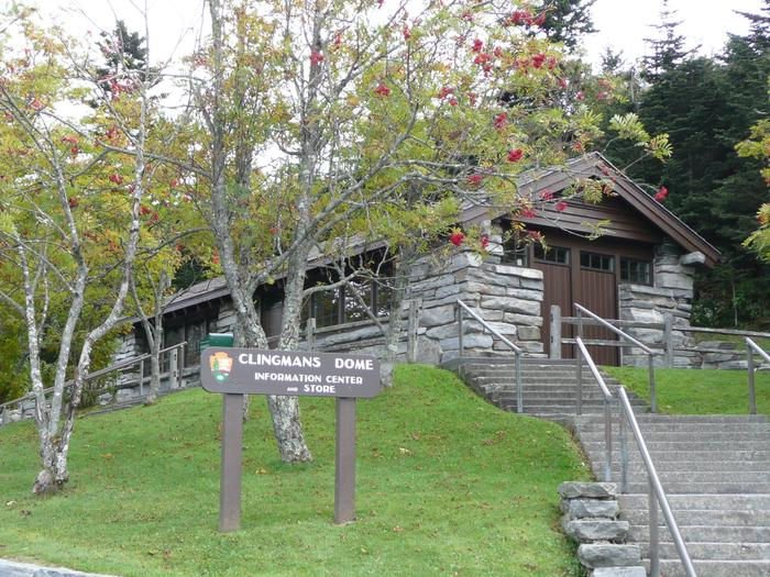 Clingmans Dome Information CenterClingmans Dome Information Center and Bookstore