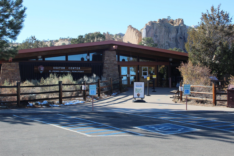 El Morro Visitor CenterThe El Morro Visitor Center