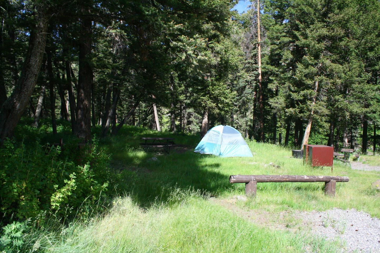 Slough Creek Campground Site #13...Slough Creek Campground Site #13
