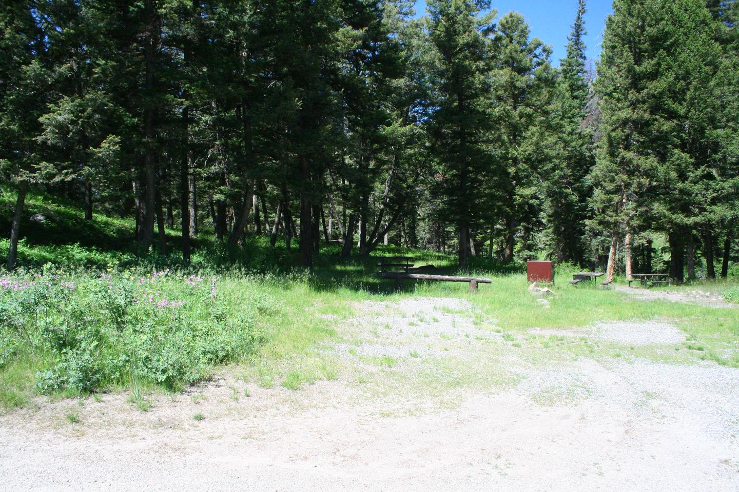 Slough Creek Campground Site #13....Slough Creek Campground Site #13