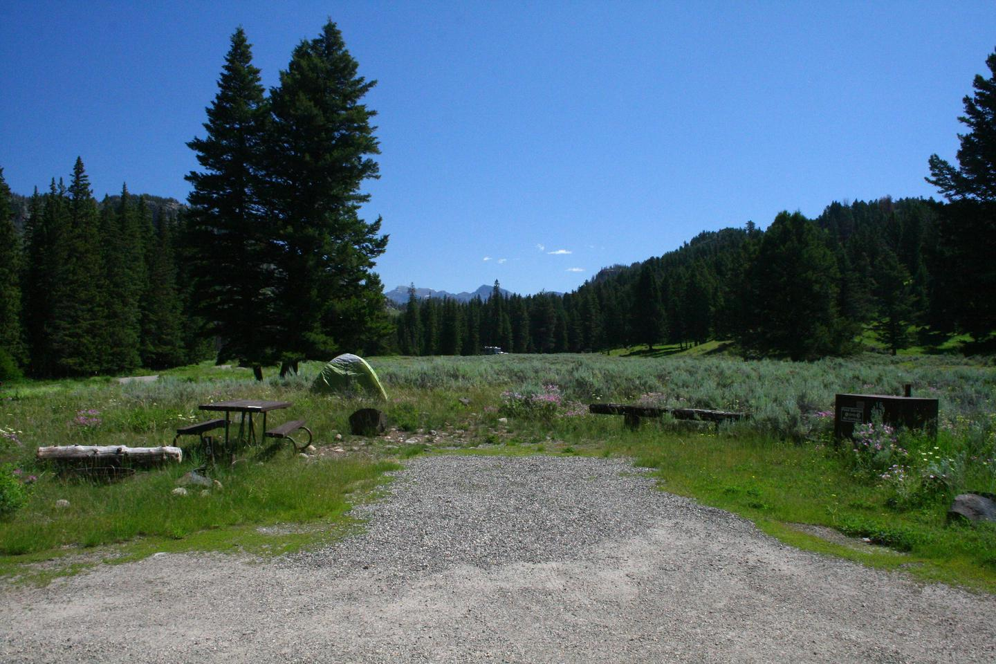 Slough Creek Campground Site #16