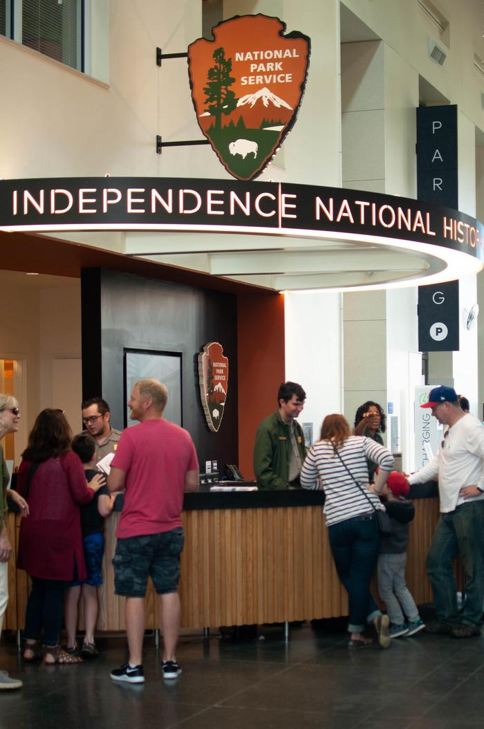 Independence Visitor Center, National Park Service Information DeskKnowledgeable park rangers and volunteers can help you plan your visit.