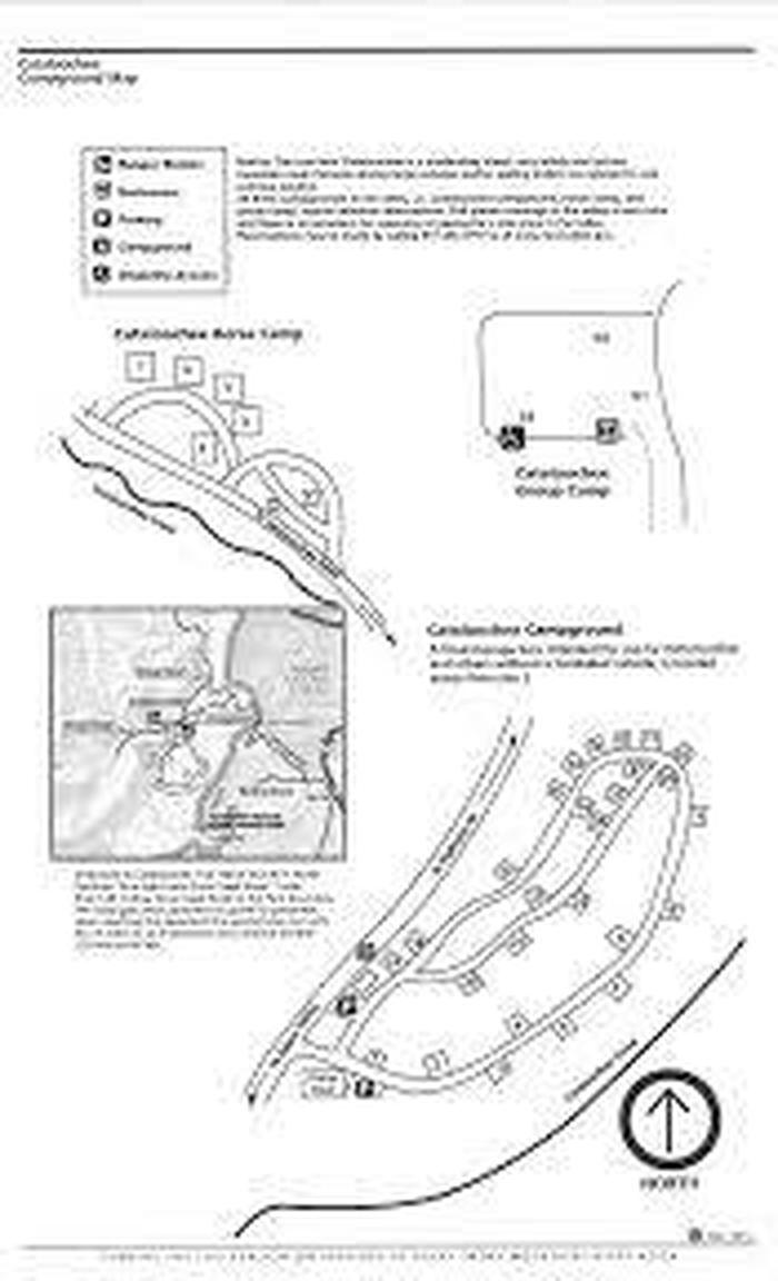 Cataloochee MapMap of campgrounds in Cataloochee