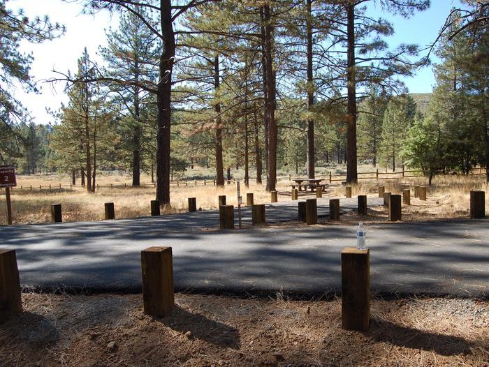 Campsite #5 Laguna Mountain Campground