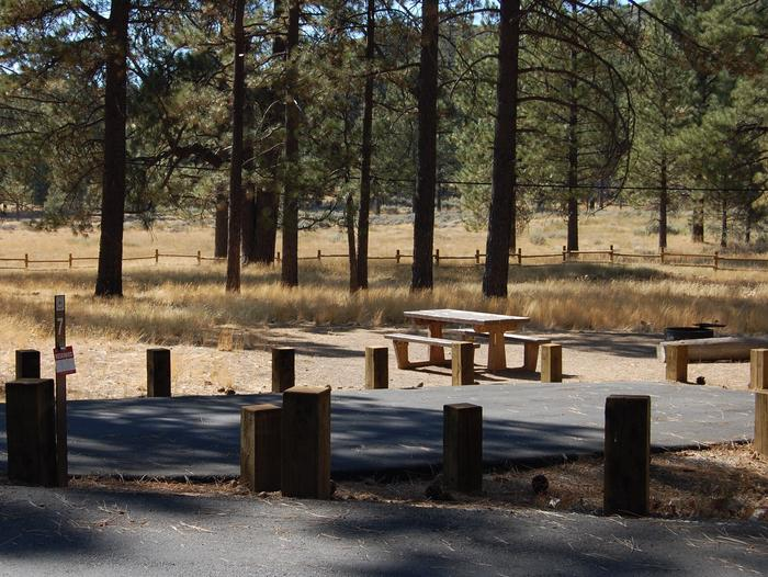 Campsite #7 Laguna Mountain Campground