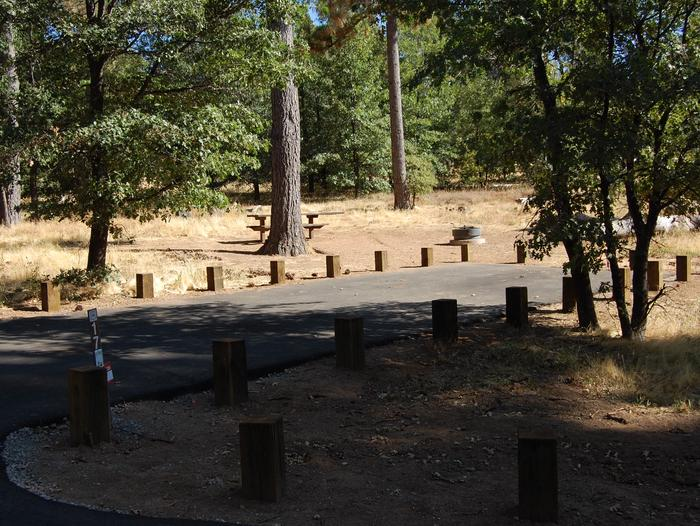 Campsite #17 Laguna Mountain Campground