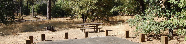 Campsite #23 Laguna Mountain Campground