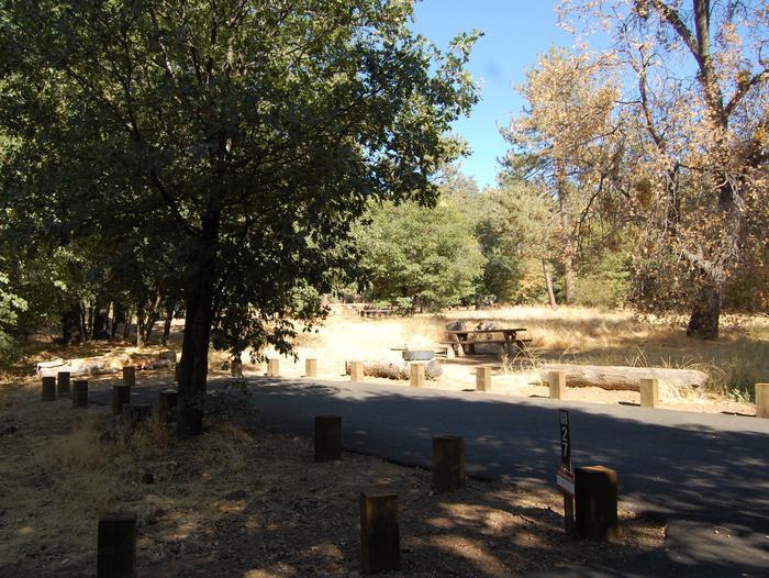 Campsite #27 Laguna Mountain Campground