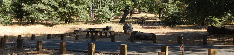 Campsite #31 Laguna Mountain Campground
