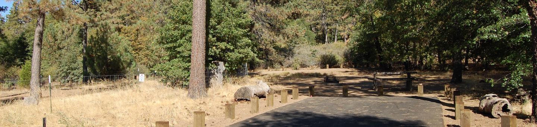 Campsite #41 Laguna Mountain Campground