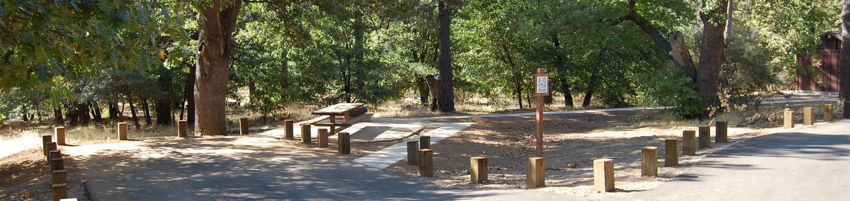 Campsite #42 Laguna Mountain Campground