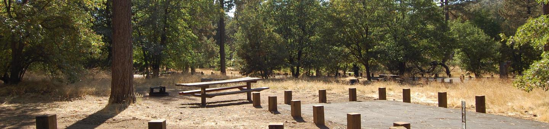 Campsite #44 Laguna Mountain Campground