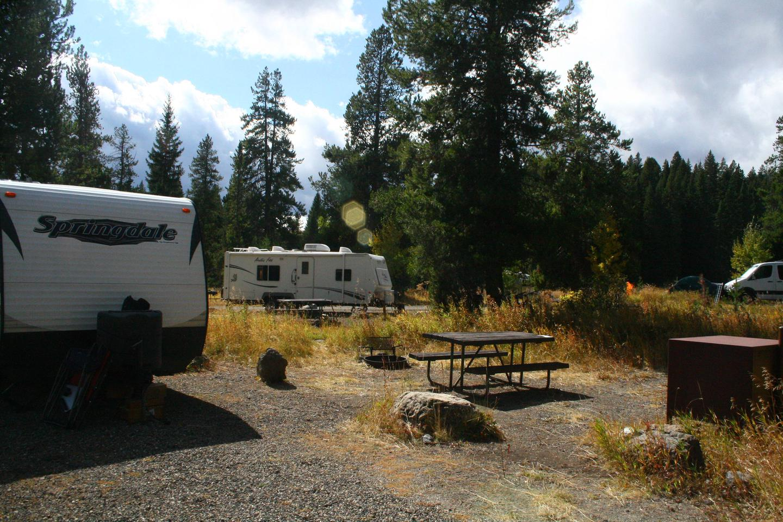 Pebble Creek Campground Site #17