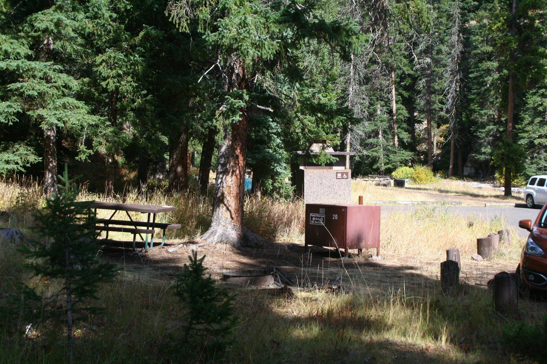 Pebble Creek Campground Site #20