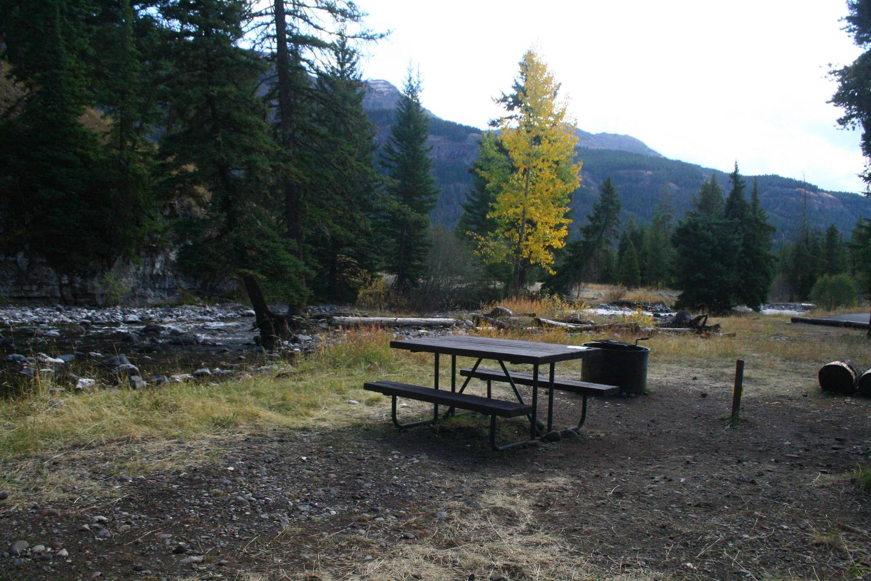 Pebble Creek Campground Site #25
