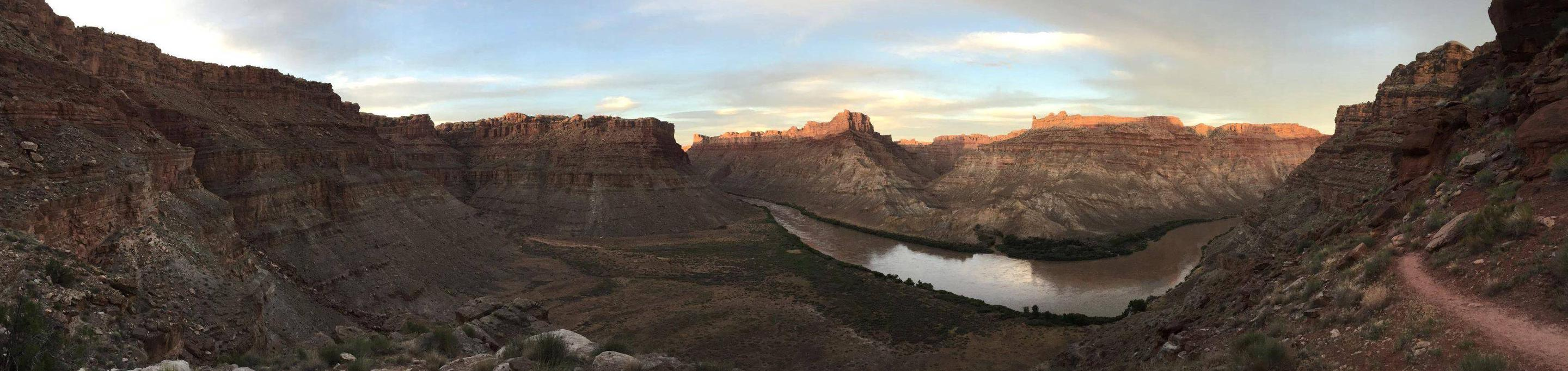 Confluence of the Green and Colorado RiversConfluence of the Green and Colorado Rivers, Canyonlands National Park