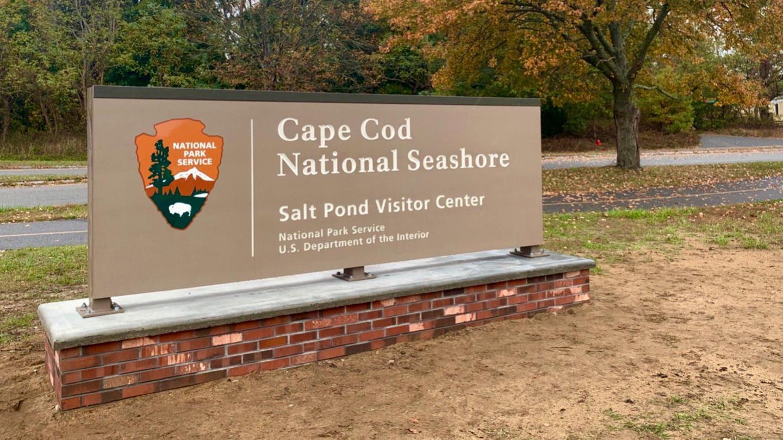 Salt Pond Visitor Center Entrance Sign