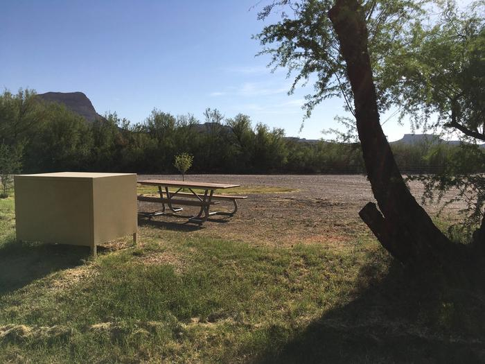 Cottonwood Campground Site #18