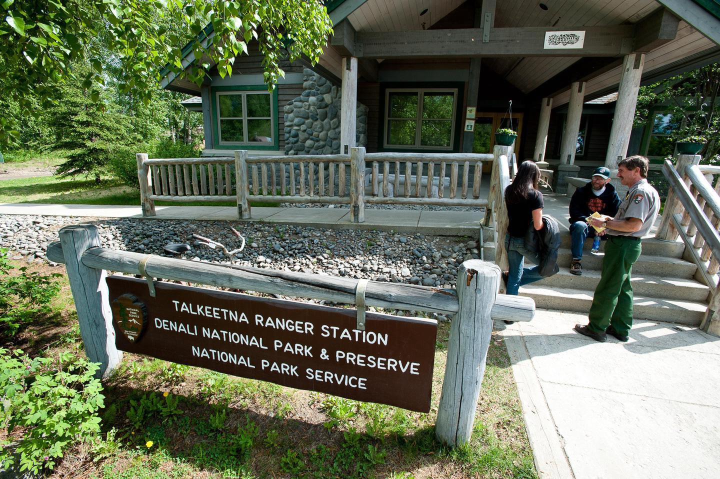 Walter Harper Talkeetna Ranger StationThe Walter Harper Talkeetna Ranger Station is the starting point for all mountaineers wishing to attempt Denali