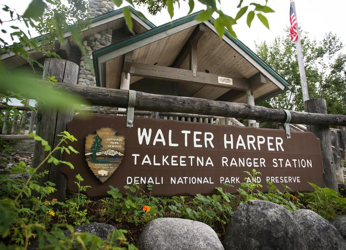 Walter Harper Talkeetna Ranger StationThe ranger station in Talkeetna is named for Walter Harper, an Athabaskan man who was the first person to summit Denali in 1913
