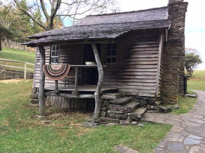 The historic Brinegar Cabin.Get a glimpse of the past at the historic Brinegar Cabin.