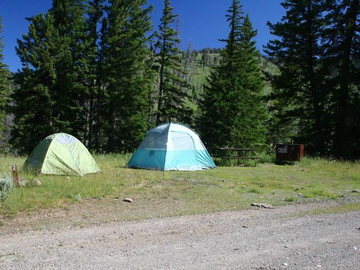 Slough Creek Campground site #2