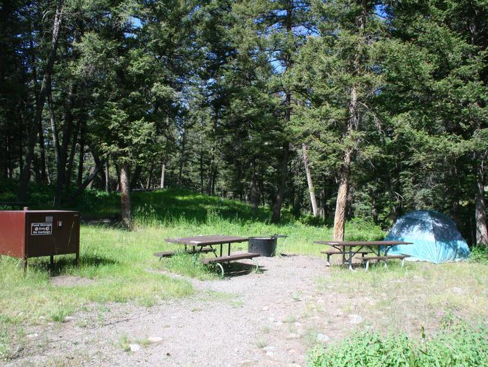 Slough Creek Campground site #12