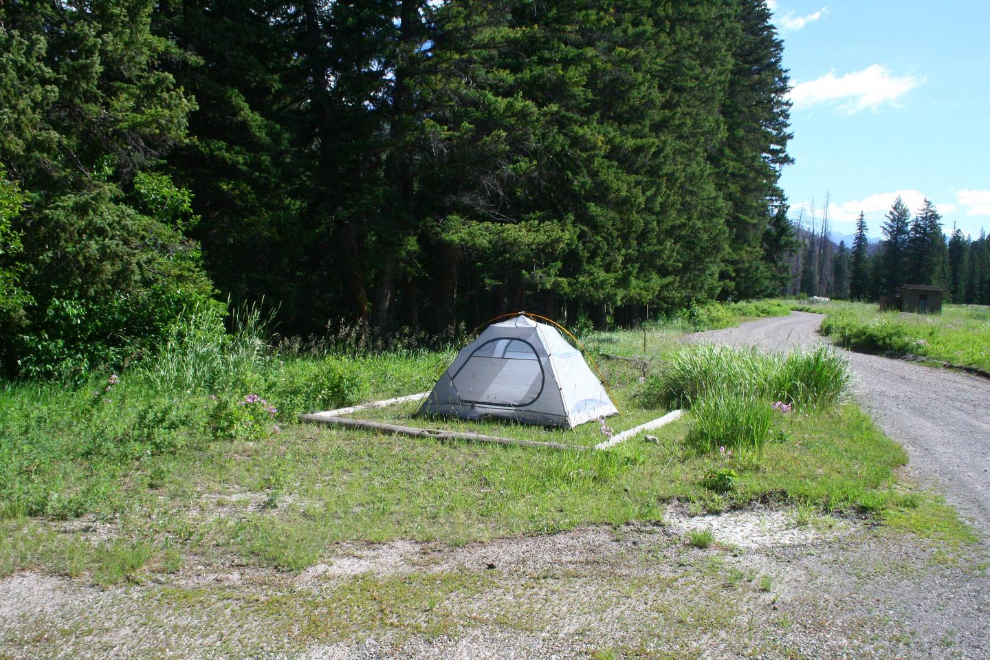 Slough Creek Campground site #9