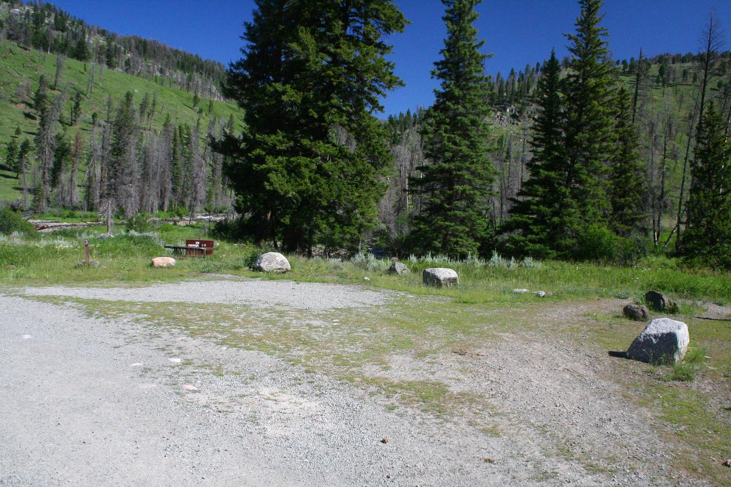 Slough Creek Campground site #3..Slough Creek Campground site #3