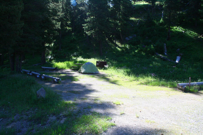 Sough Creek Campground Site #1..Sough Creek Campground Site #1