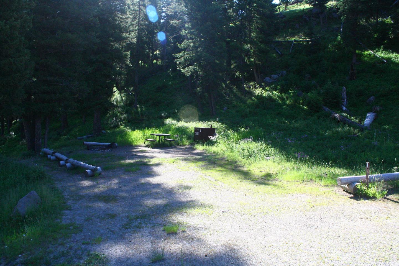 Sough Creek Campground Site #1...Sough Creek Campground Site #1