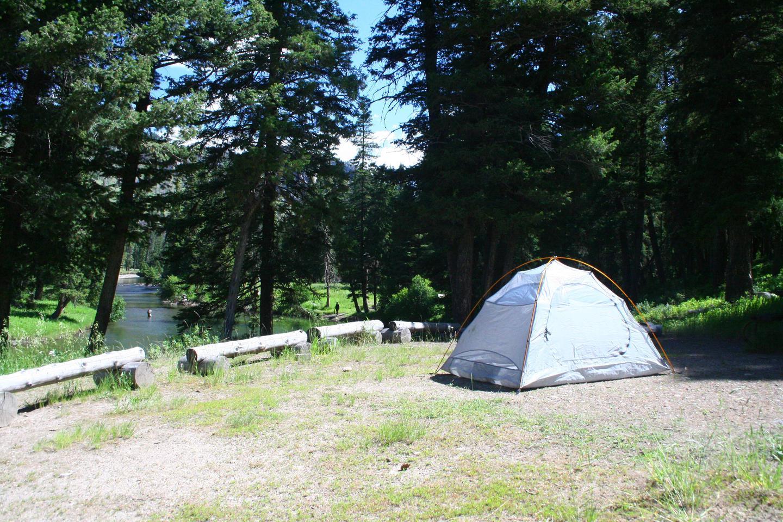 Sough Creek Campground Site #1