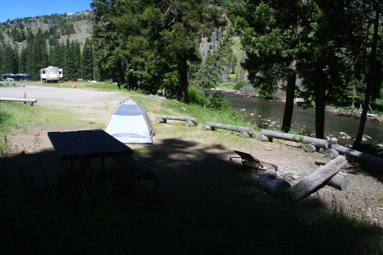 Sough Creek Campground Site #1.Sough Creek Campground Site #1