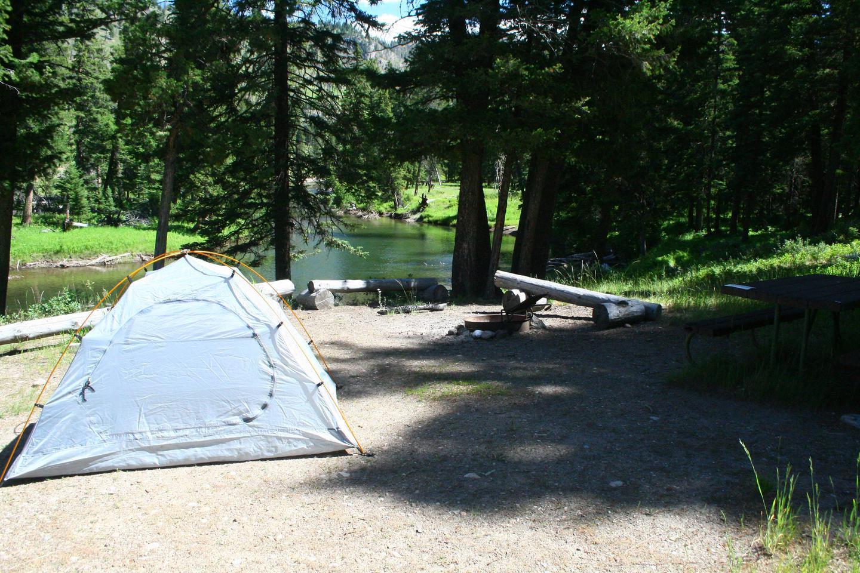 Sough Creek Campground Site #1....Sough Creek Campground Site #1