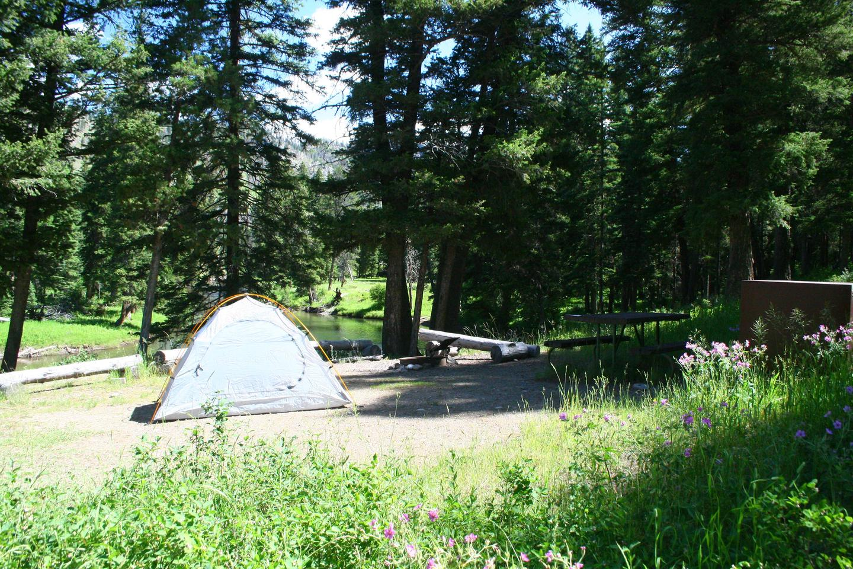 Sough Creek Campground Site #1.....Sough Creek Campground Site #1