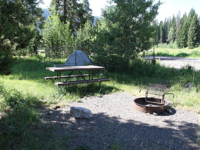 Pebble Creek Campground site #2