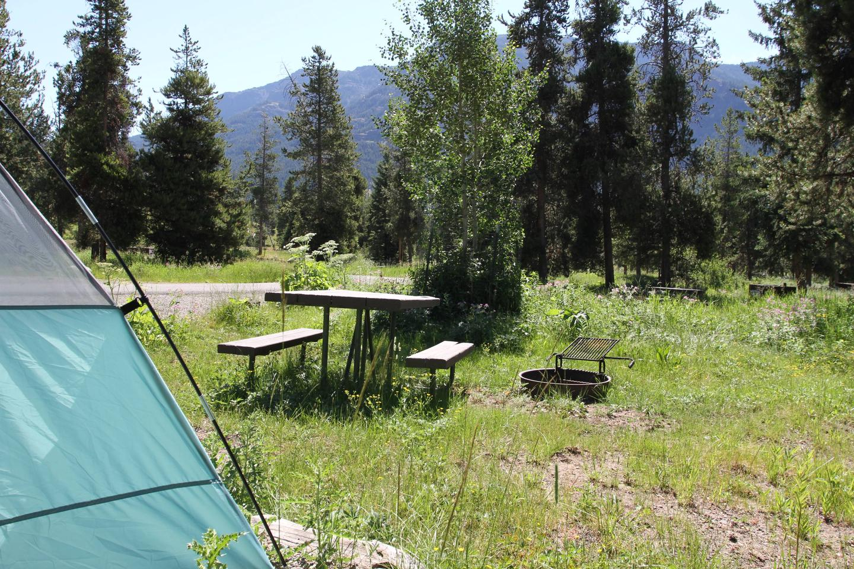 Pebble Creek Campground site #14