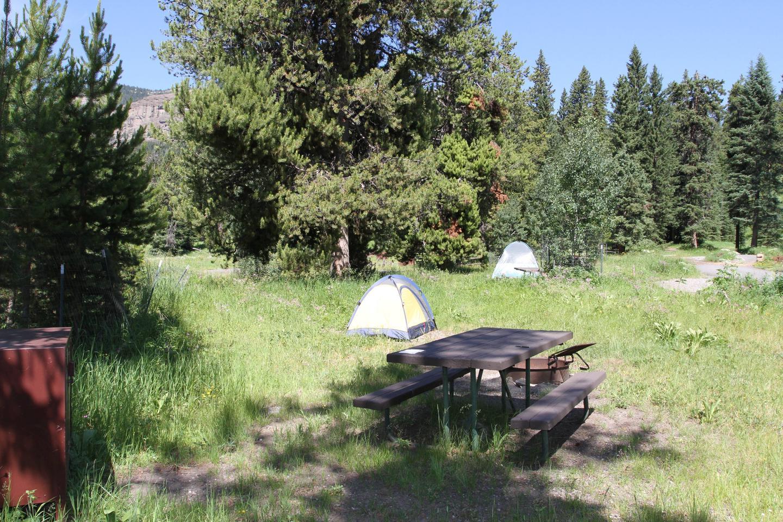 Pebble Creek Campground site #15