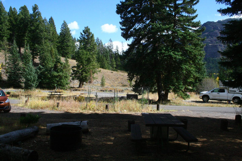 Pebble Creek Campground site #19