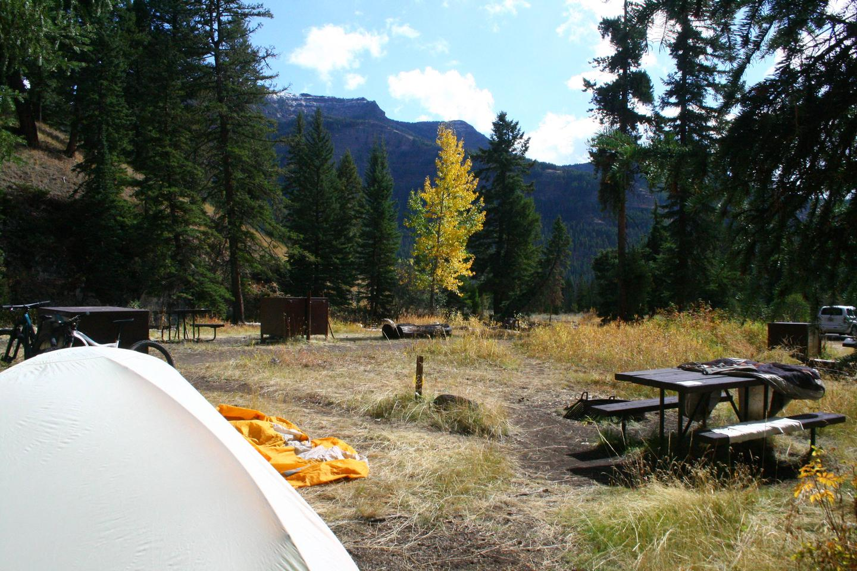 Pebble Creek Campground site #23