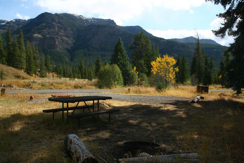 Pebble Creek Campground site #26