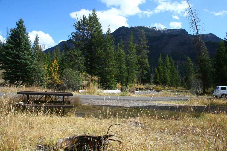 Pebble Creek Campground site #27