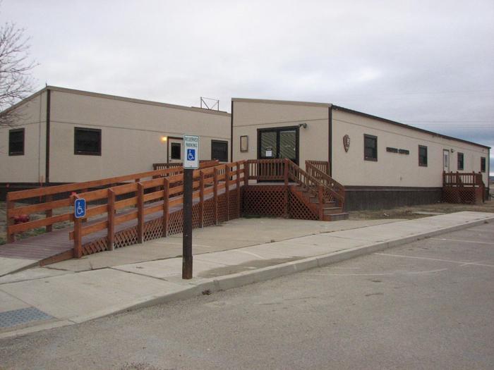 North Unit Visitor CenterNorth Unit Visitor Center at TRNP.