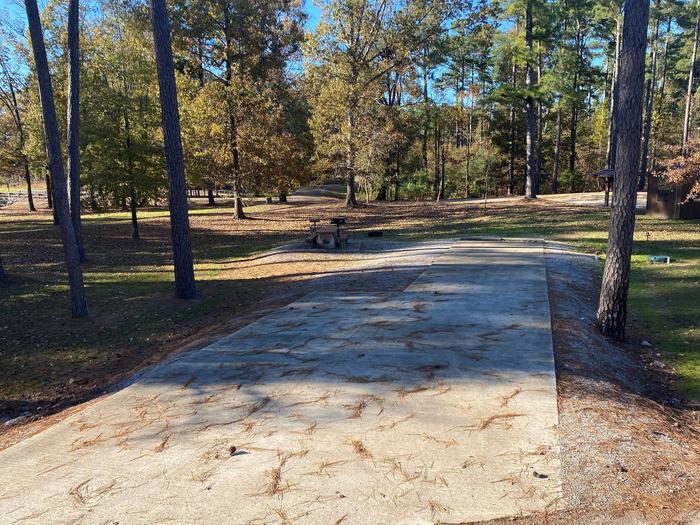 North Abutment  Campground Site ThreeNorth Abutment Site Three