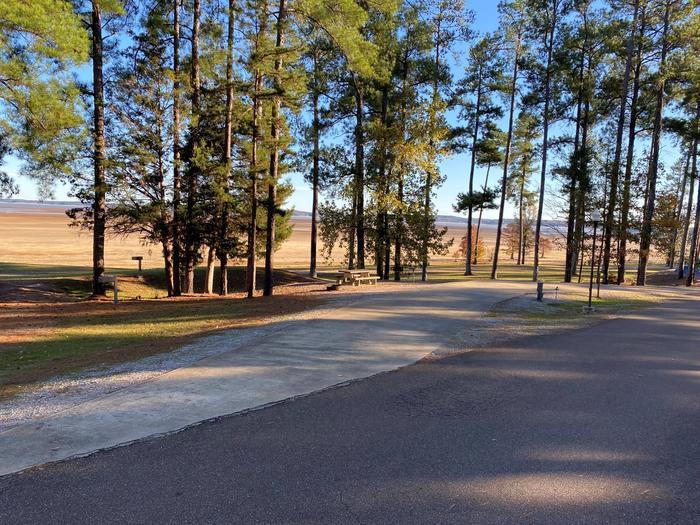 North Abutment Campground Site EighteenNorth Abutment Site Eighteen