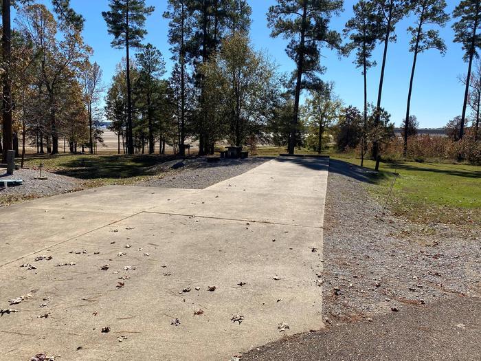 North Abutment Campground Site NineNorth Abutment Site Nine